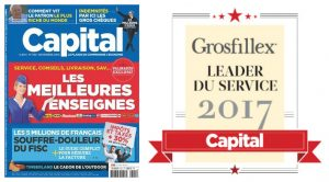 Couverture magazine Capital